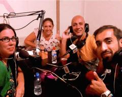 Fernando Soto con María Larroca en Despacito y a Compás